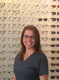 Town Center Vision's Optician Monica Jollie
