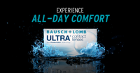 Bausch + Lomb ULTRA sold by Town Center Vsion